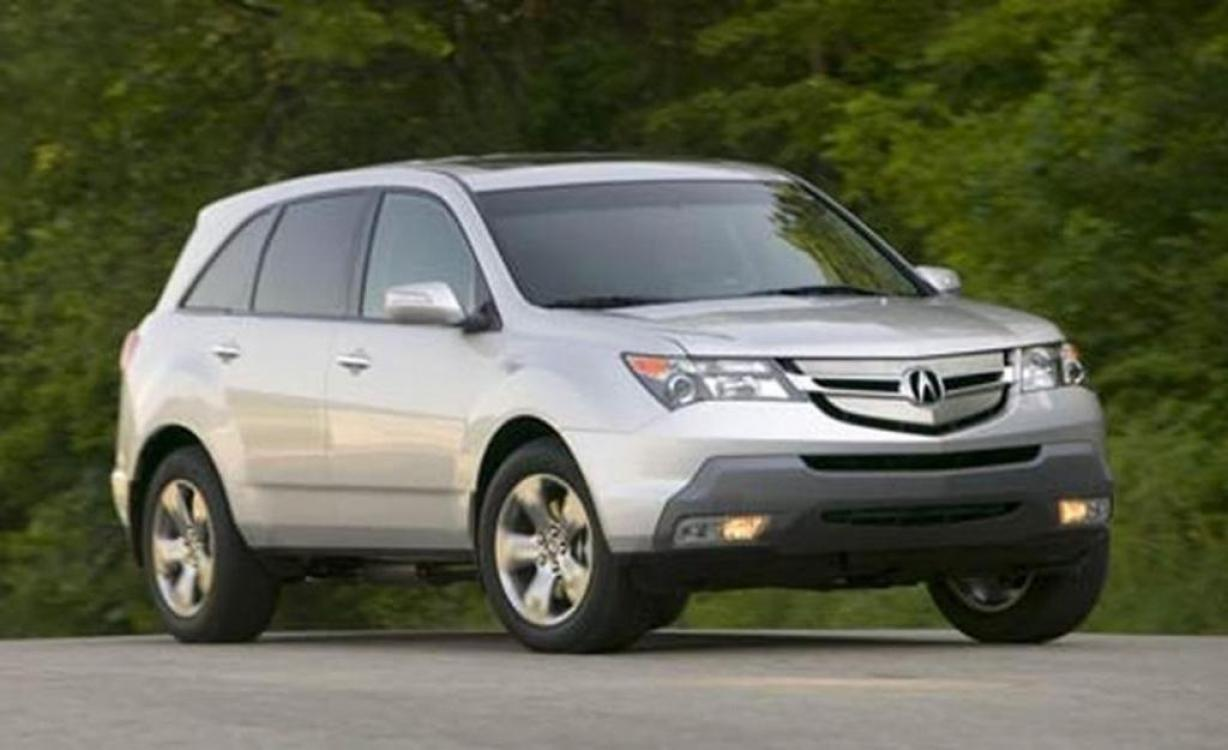 2007 Acura MDX Tech Package (2HNYD28367H) with an 3.5L V6 SOHC 24V engine, 5-Speed Automatic Overdrive transmission, located at 4957 N Broadway St, Huntington, IN, 46750, (260) 356-1588, 40.901005, -85.470833 - Photo #1
